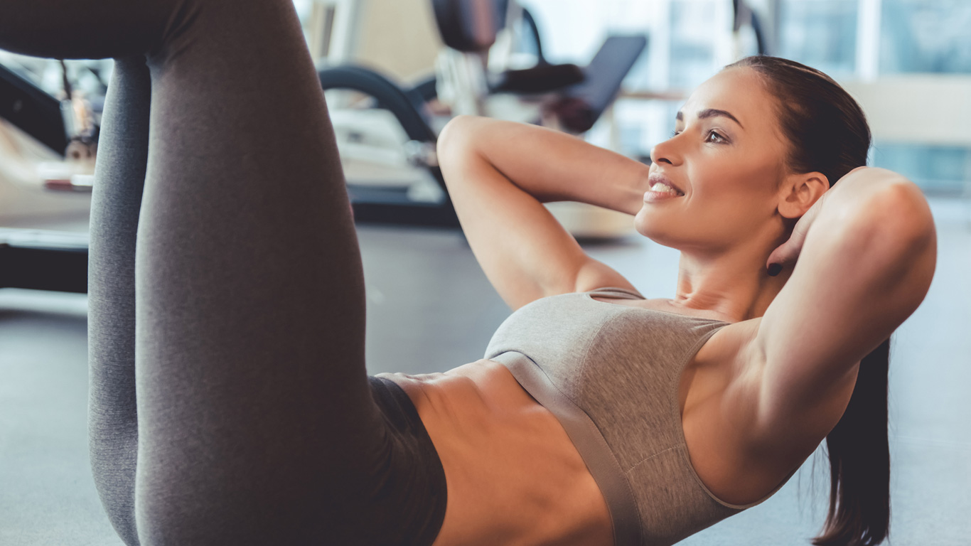 Irrtum 6: Gezielte Übungen bekämpfen die Problemzonen