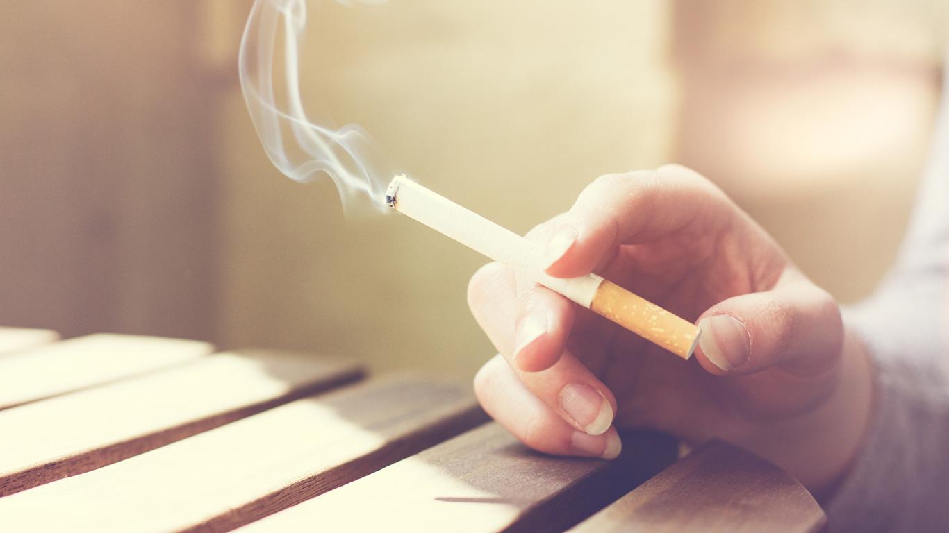 Finger weg von Zigaretten