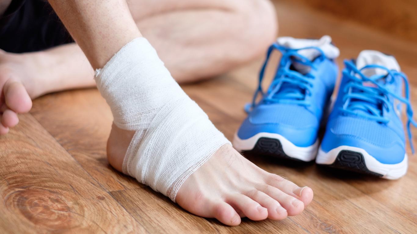 Verletzungen behandeln!