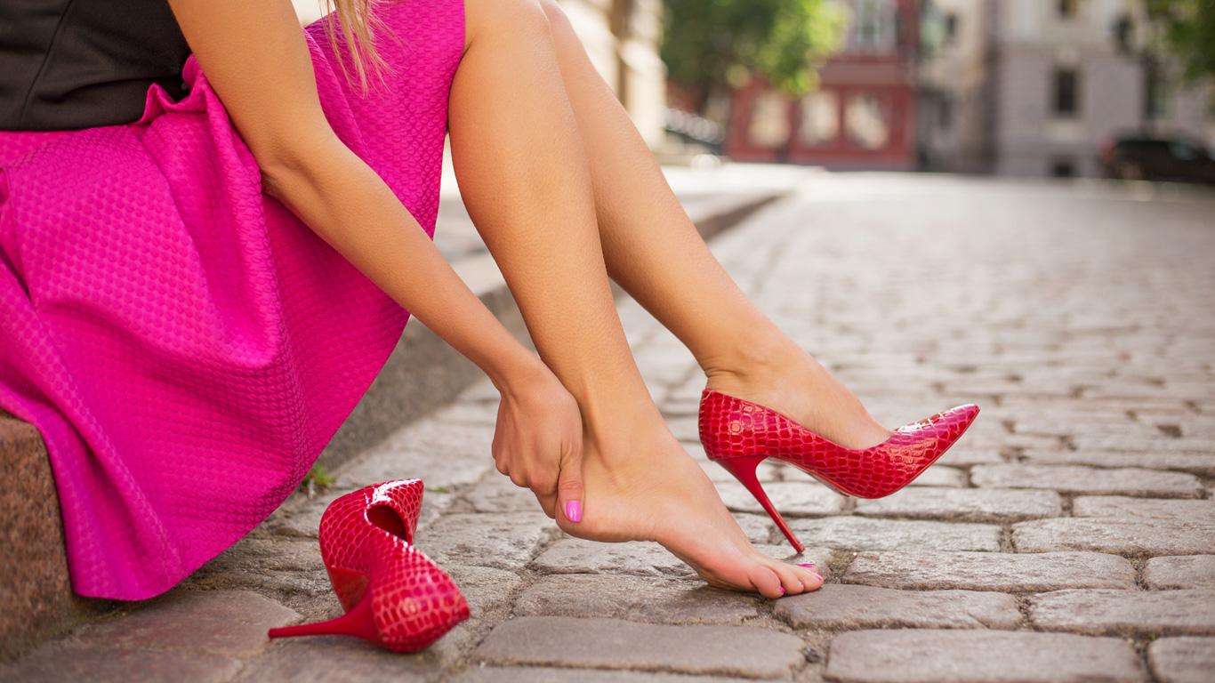 Hohe Schuhe – schön aber ungesund