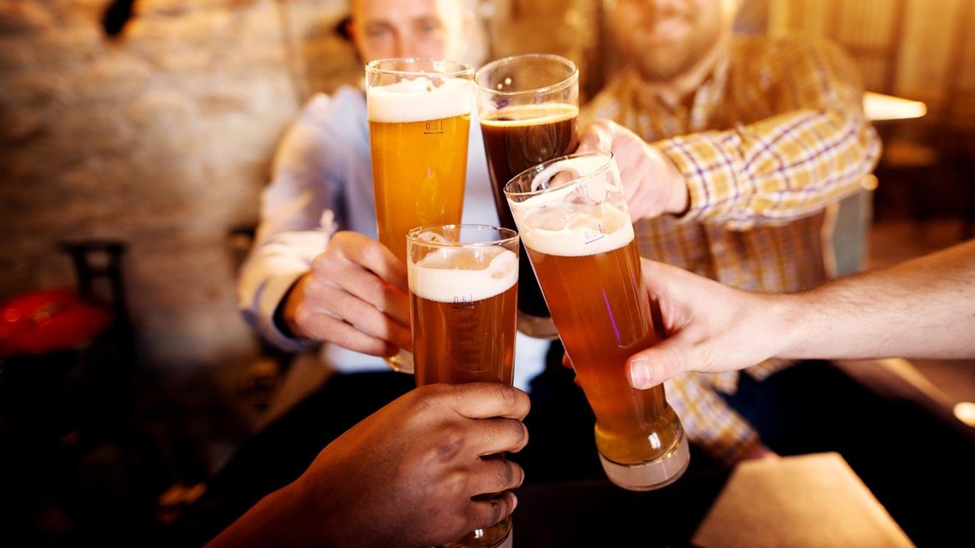Finger weg von Alkohol
