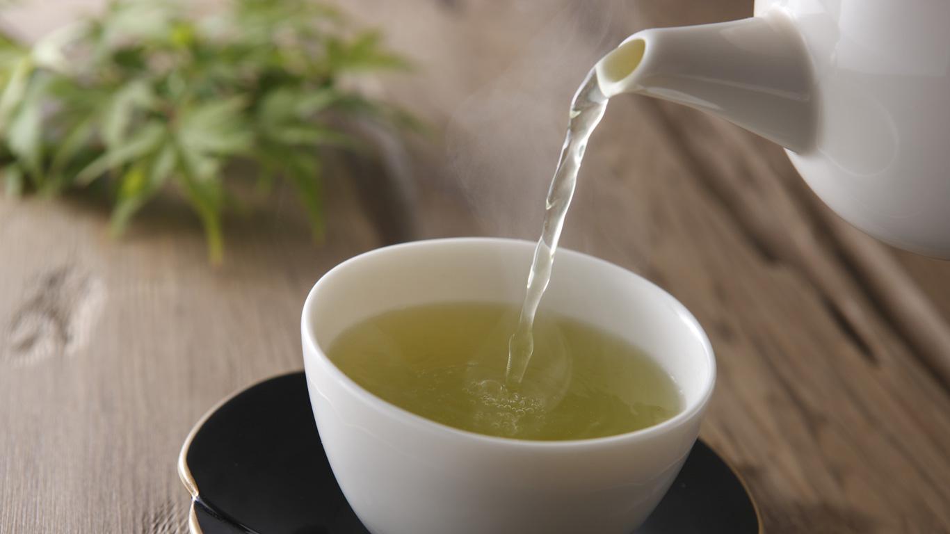 Grüner Tee hält das Gehirn fit