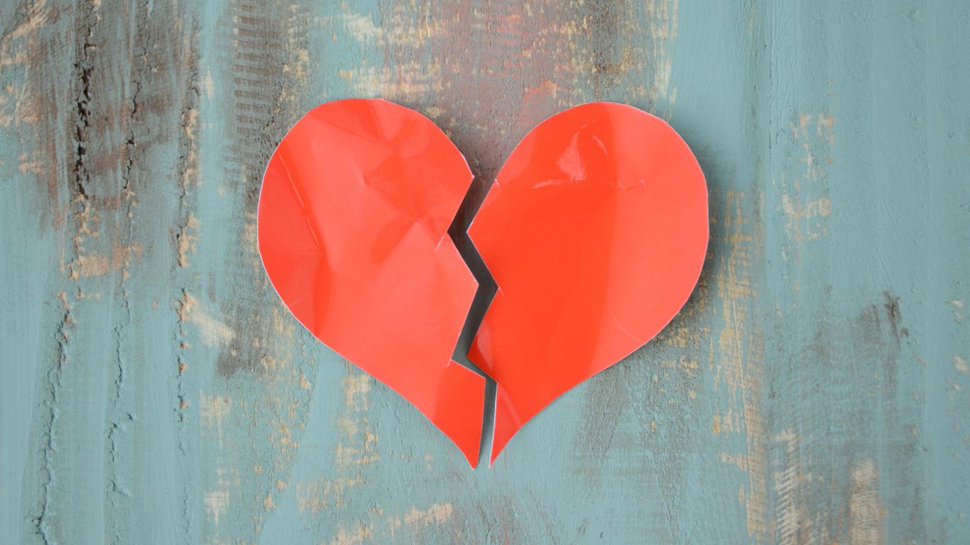 Man kann an einem gebrochenem Herzen sterben