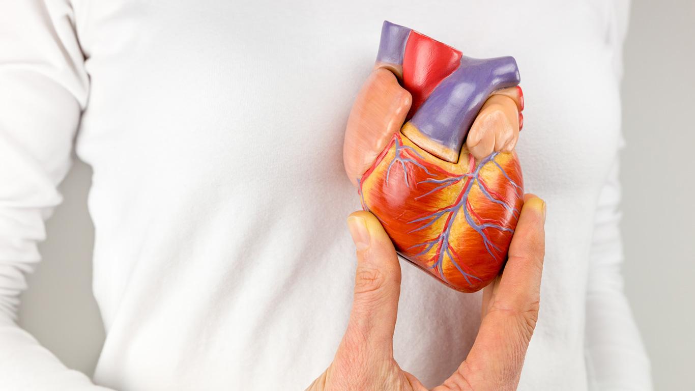 Schwache linke Herzhälfte