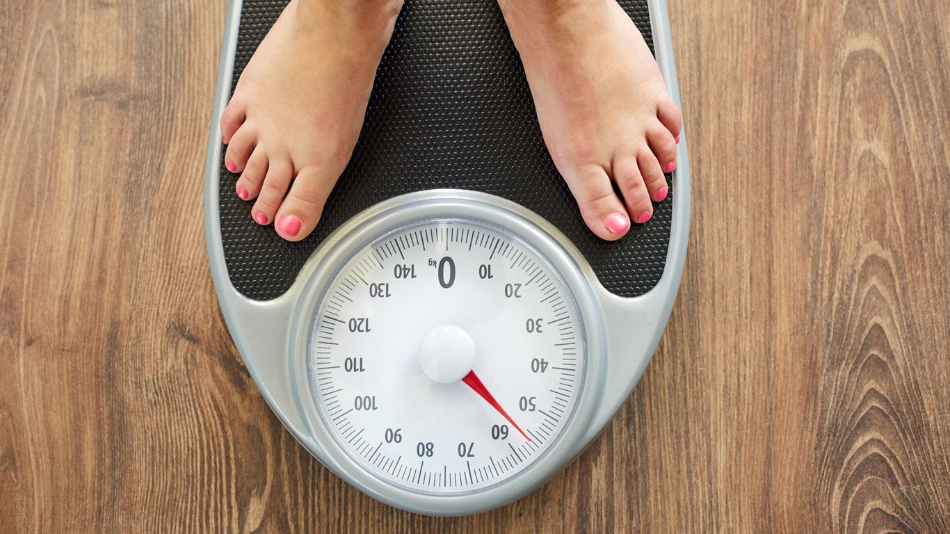 Plötzliche Gewichtszunahme