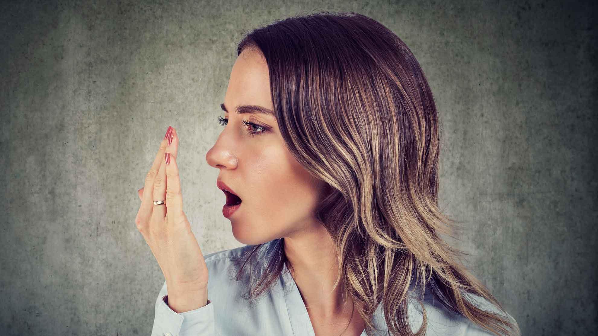 Ingwer vertreibt Mundgeruch