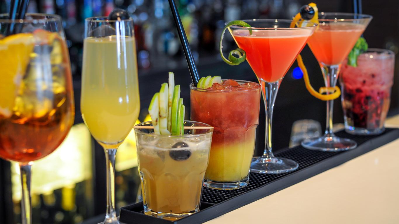 Tipp 6: Cocktails nicht unterschätzen