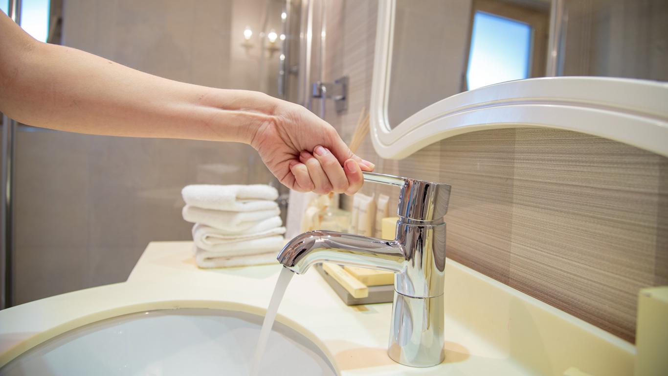 Platz 6: Der Wasserhahn