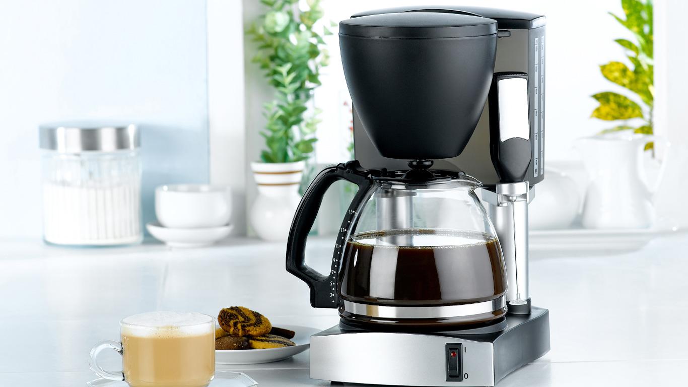 Platz 5: Die Kaffeemaschine