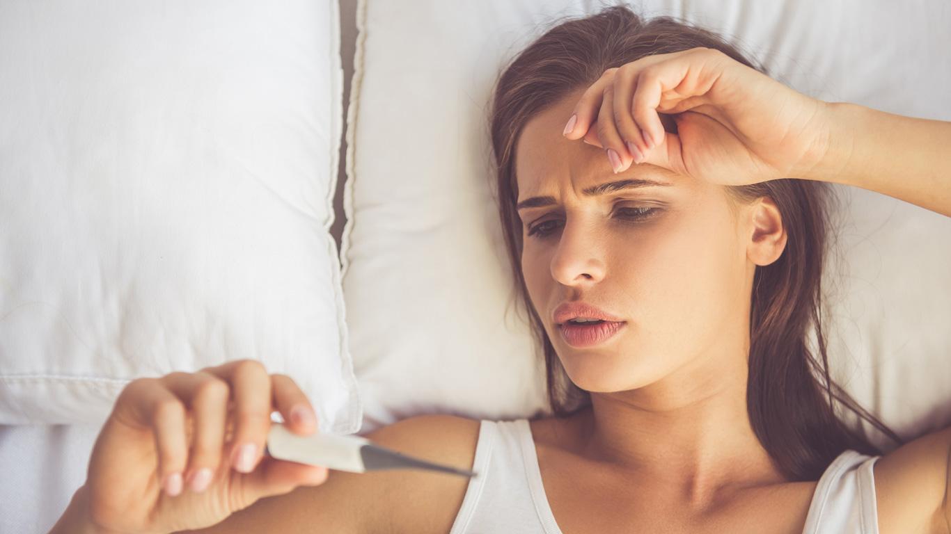 Frauen und Männer: Fieber