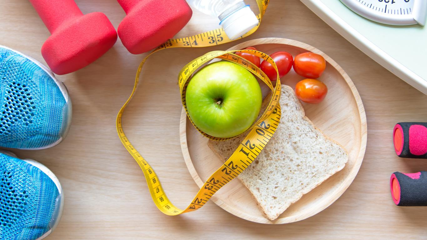 Gesunde Ernährung, Sport, Abnehmen