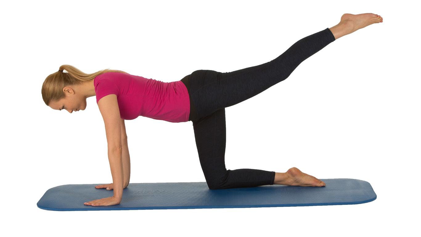 Übung 5: Kräftigt den Rücken