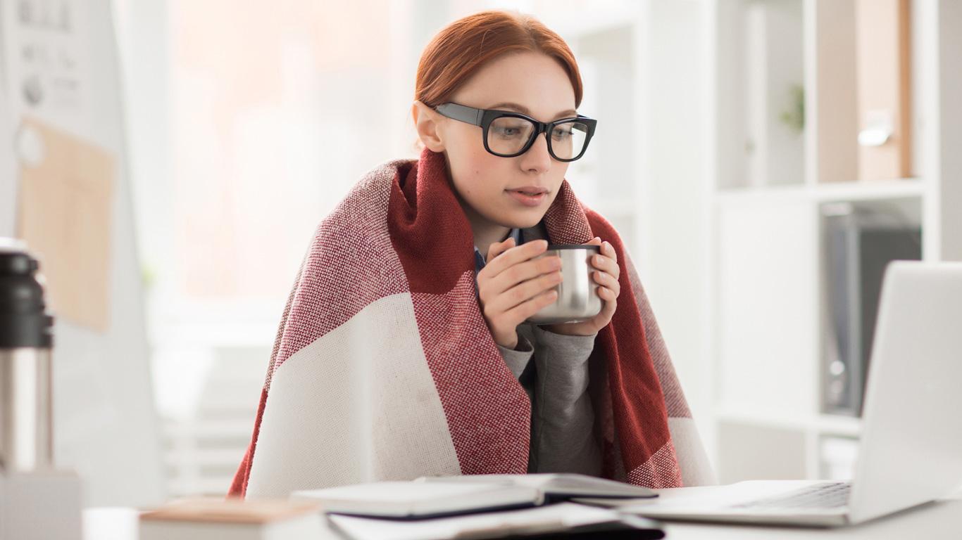 Kälteempfindlichkeit, Hautprobleme und Schwellungen