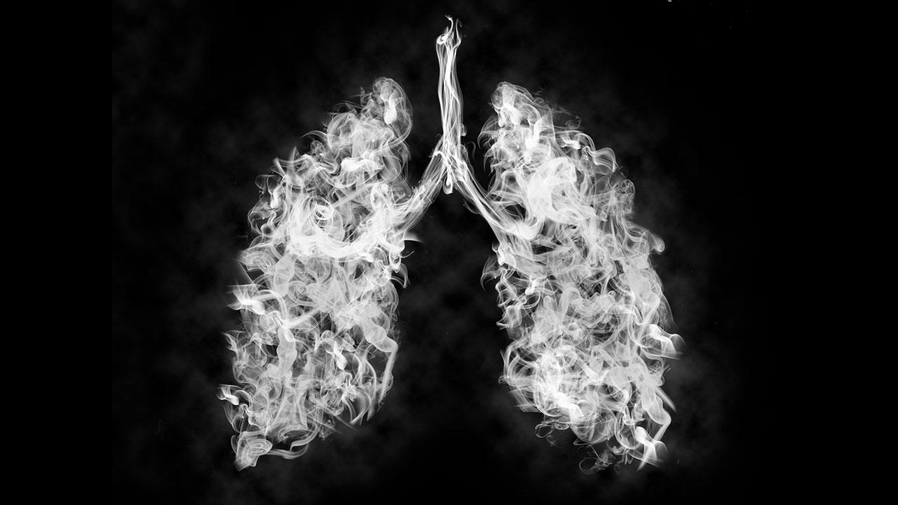 Wie reinigt sich die Lunge von Zigarettenrauch?