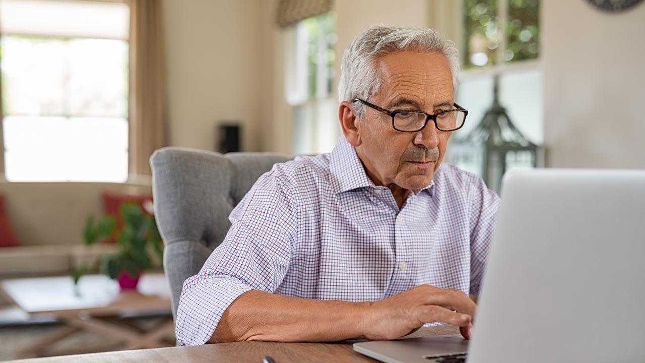 Senioren: Fitteres Gehirn durch Computerarbeit