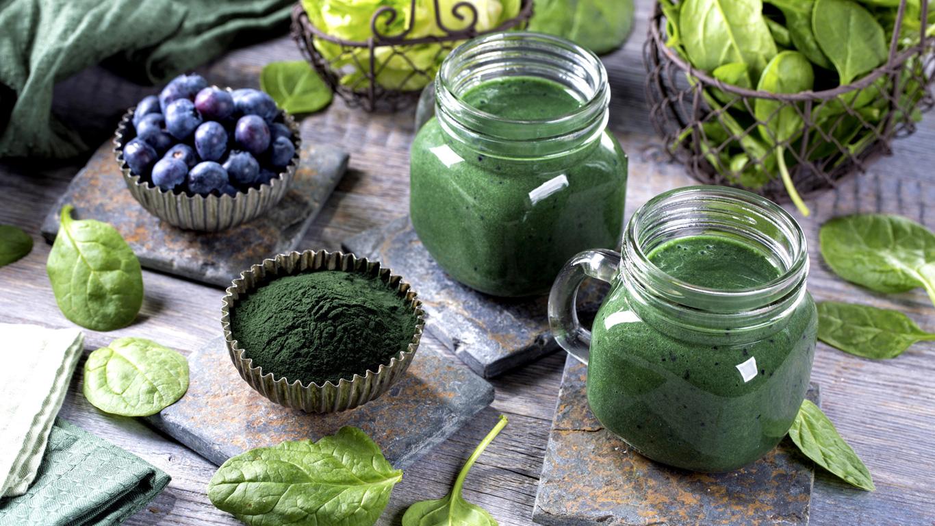 Spirulina-Alge
