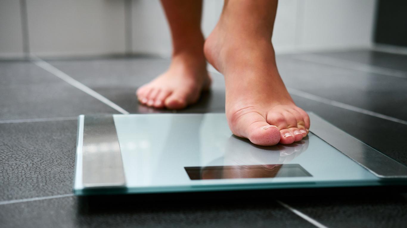 Auf das Gewicht achten