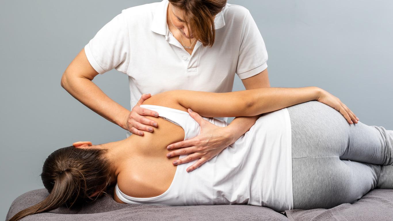 Krankengymnastik und kieferorthopädische Behandlung