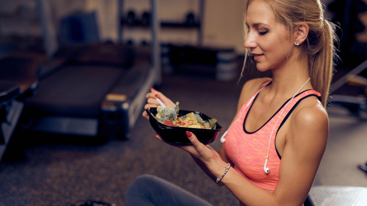 Wann sollte man nach dem Sport essen?