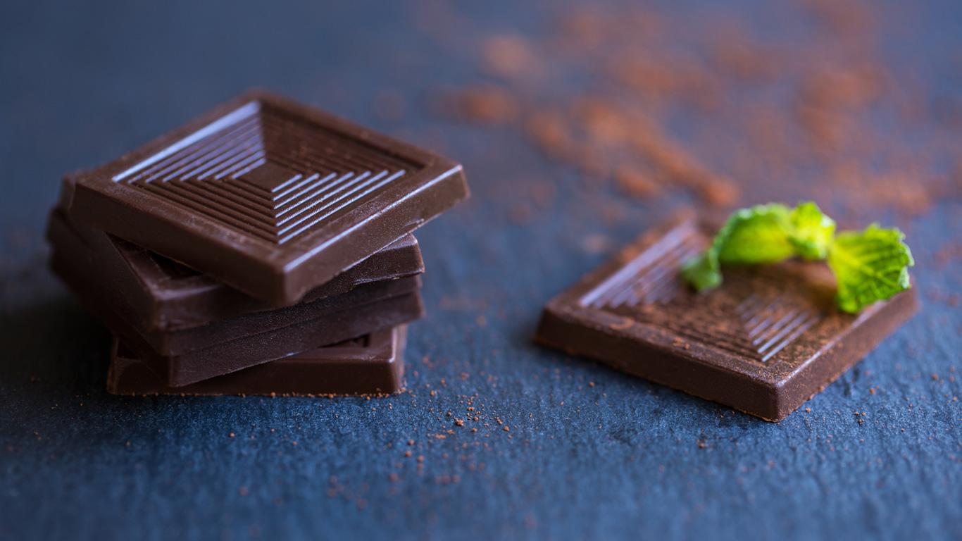 Schokolade ist ein Dickmacher